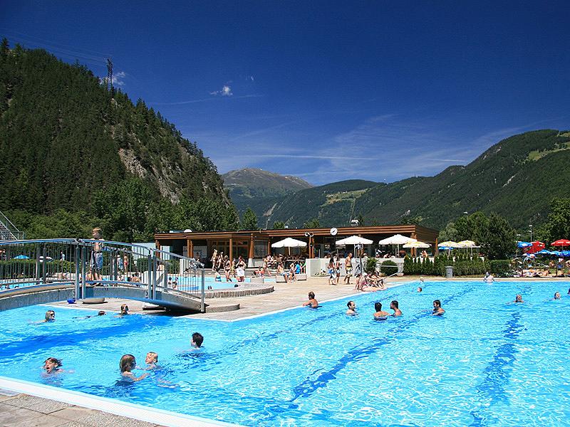 Zwemmen Camping Tirol Schwimmbad Aktiv Camping Prutz Tirol Landeck Sterreich